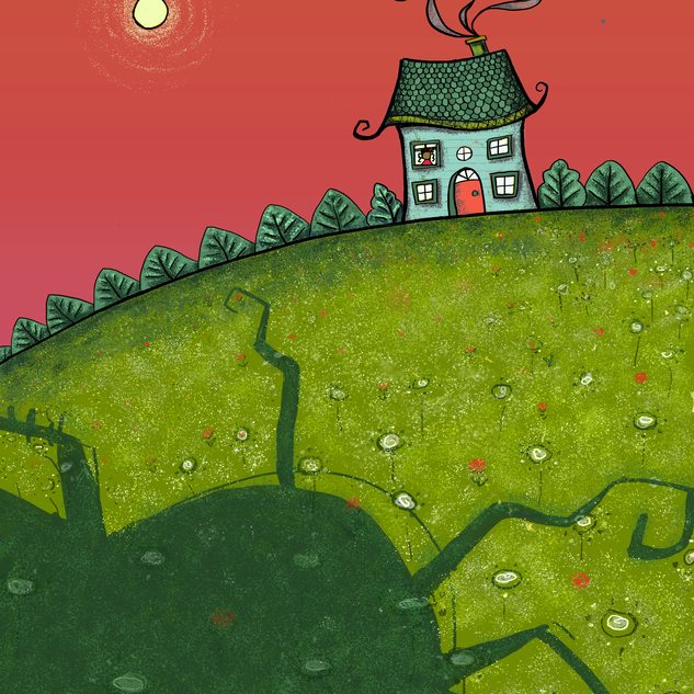 Illustration for picture book, seeking publication