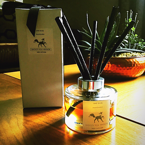 Luxury Handmade Reed Diffuser by Snooty Fox Vintage