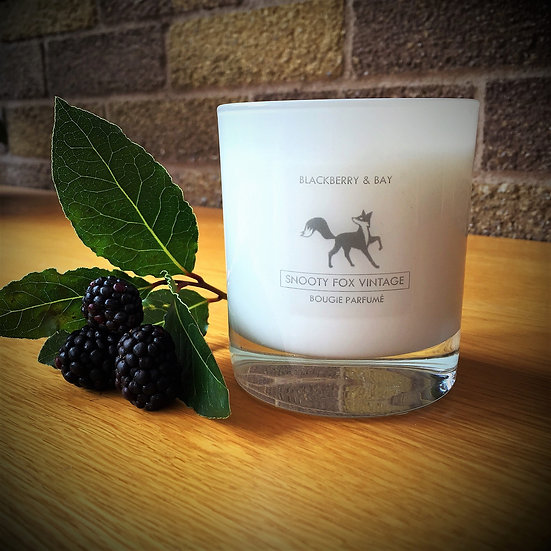 Luxury Handmade Fragranced 220g Candle by Snooty Fox Vintage