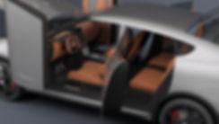 Koenigsegg Parera interior