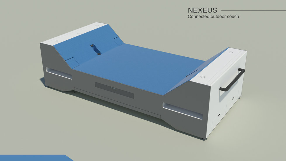 Nexeus connected outdoor couch