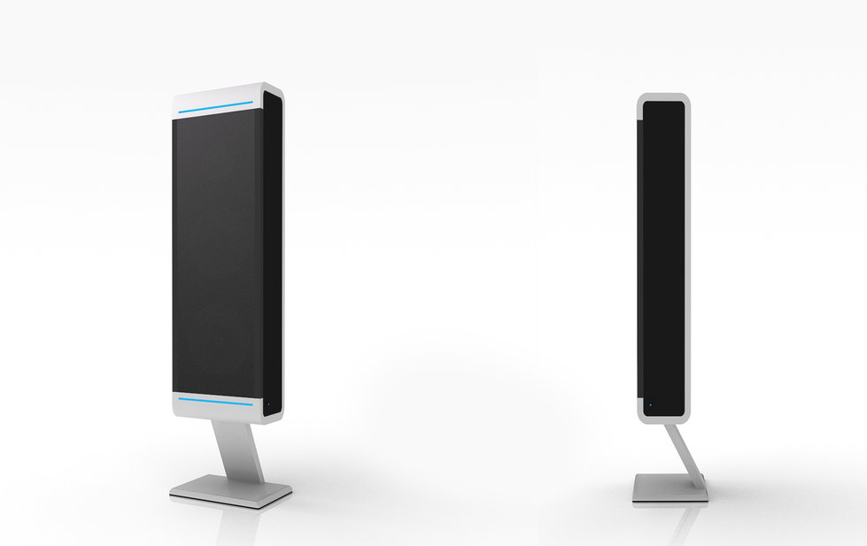 Aluminium speaker design