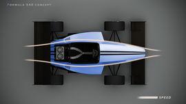 FSAE car shape