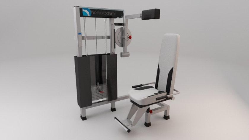 Neck training machine
