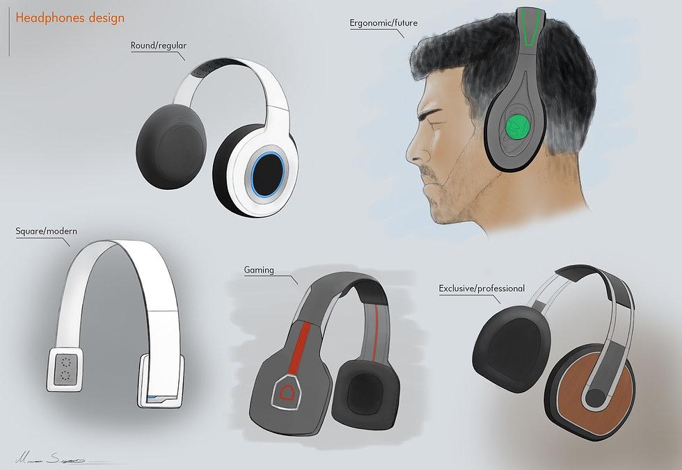 Hörlurar design