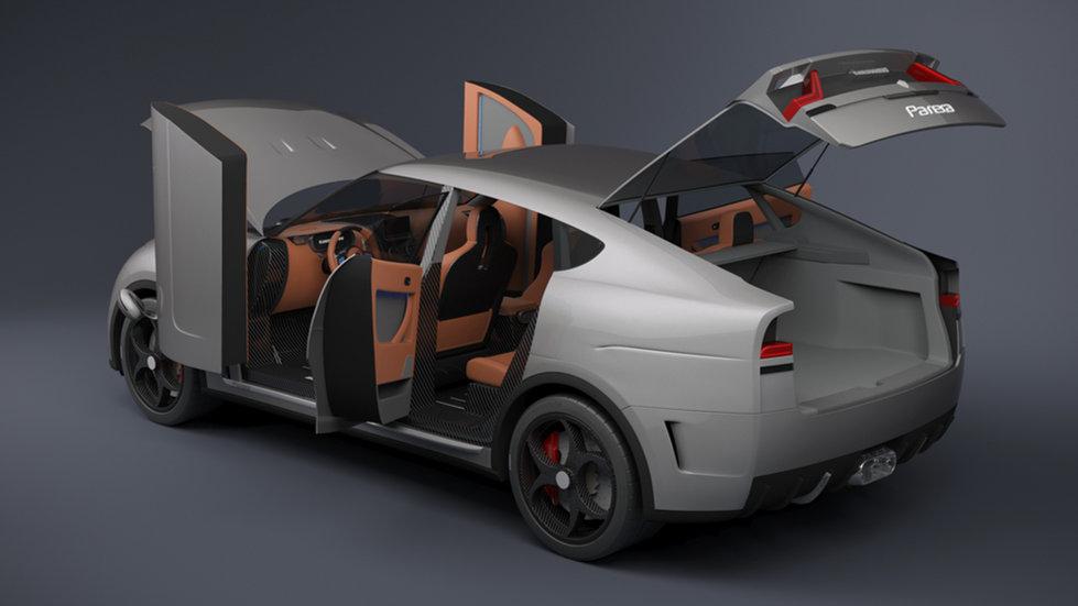 Parera robotized doors rear