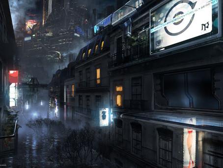 Future cities art
