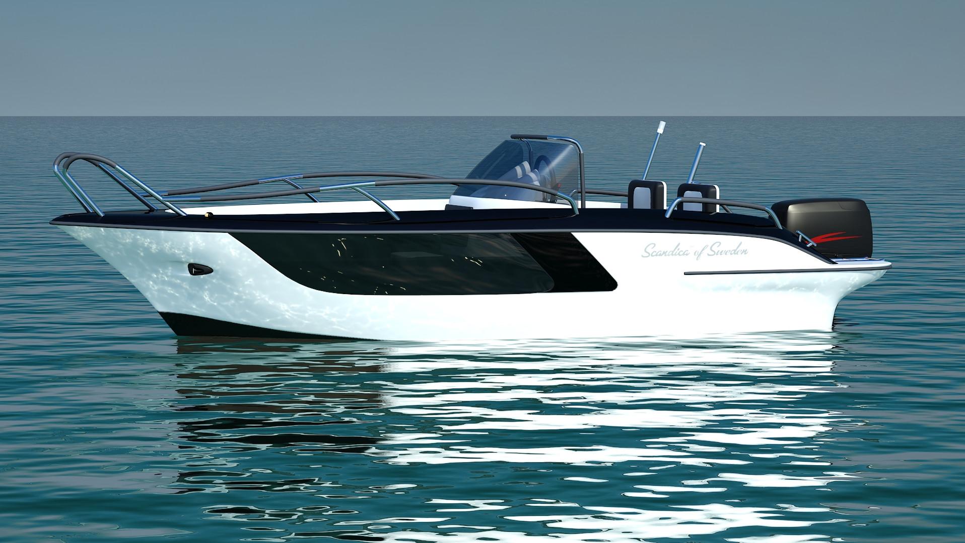 Scandica boat design