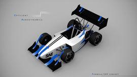 FSAE car design aero