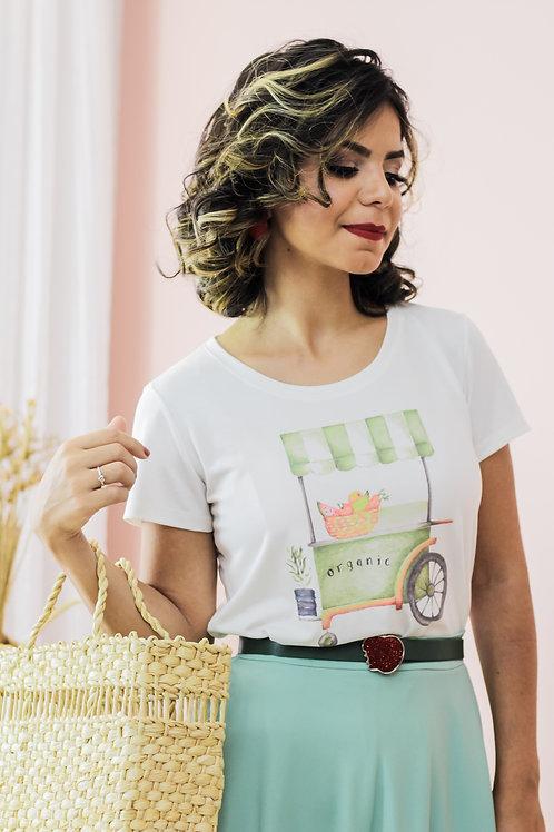 T-Shirt Frutas Orgânicas 🍉
