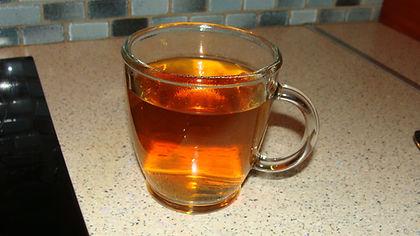 le thé grec dans la tasse optimale