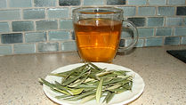 olive leaf tea - good for the heart and delicious!