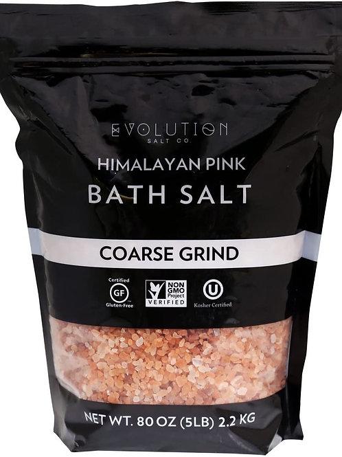 Himalayan Pink Salt 5lb: coarse