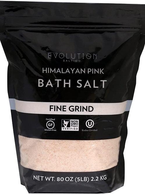 Himalayan Pink Salt 5lb: fine