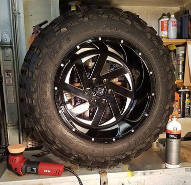 rim polishing truck alpha detailing llc mystic groton ct