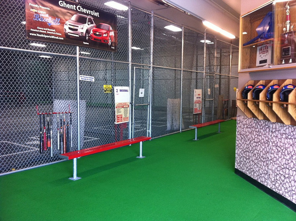 how to build a batting cage in your basement