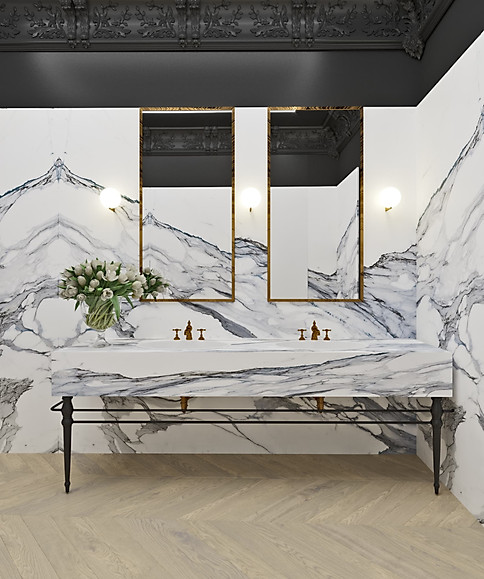 3д визуализация ванной