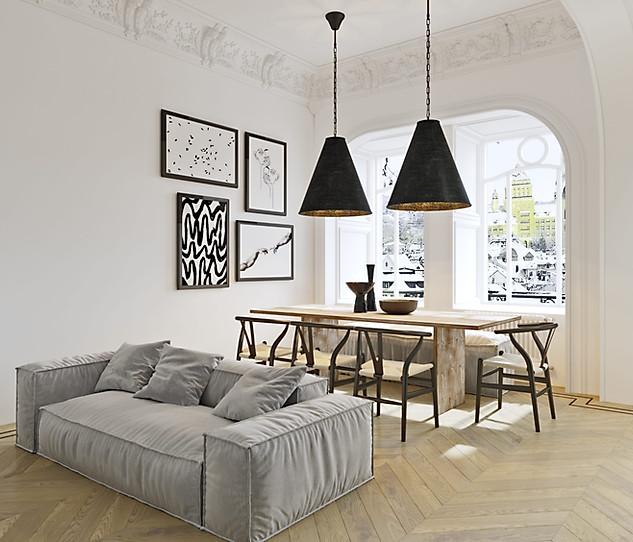 визуализация квартиры в Париже