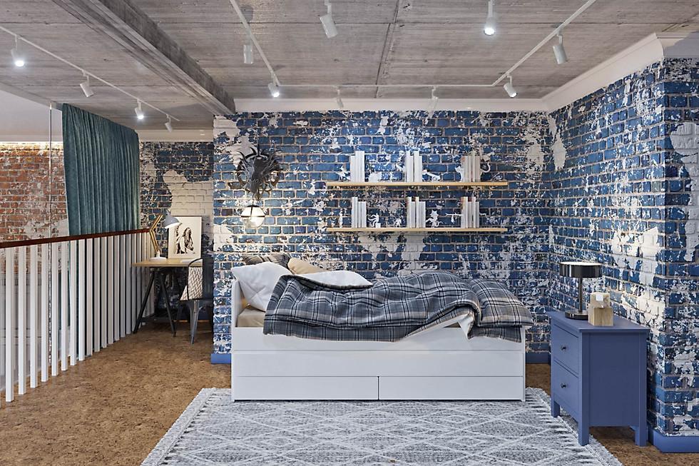визуализация детской кровати