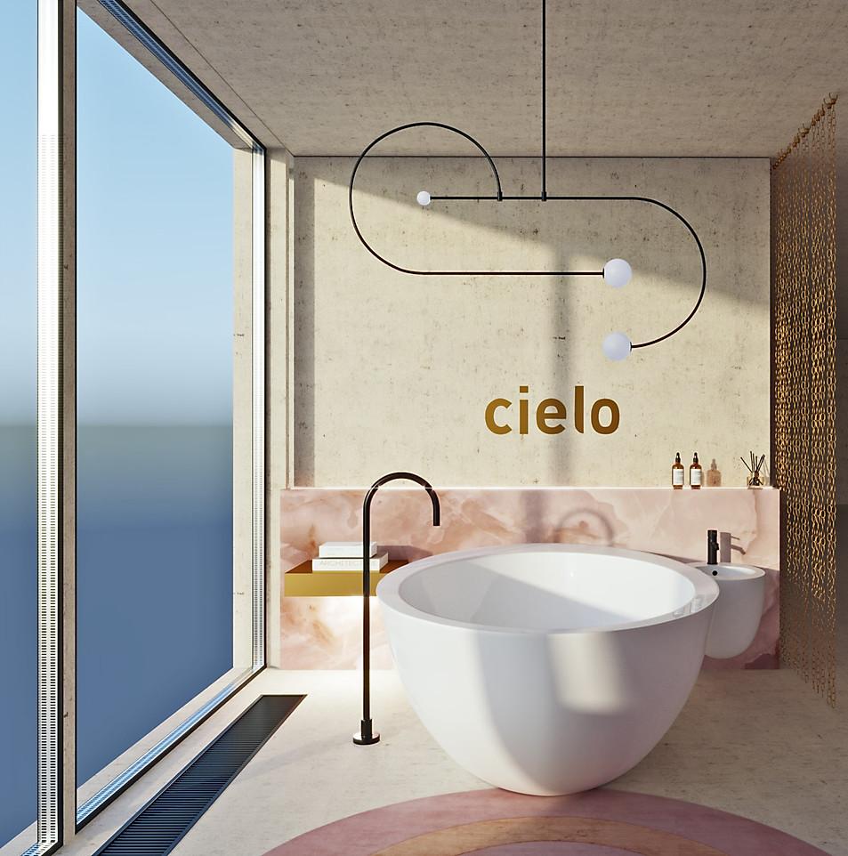 визуализация Cielo