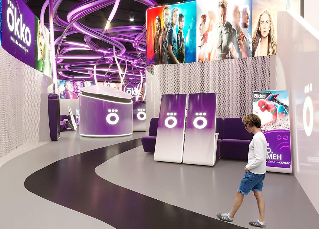 3д проект кинотеатра