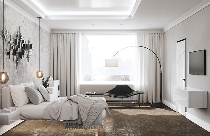 визуалиазация спальни