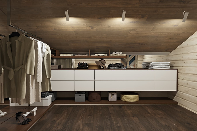 3д визуализация гардероба