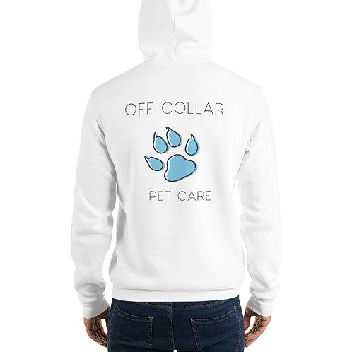 Men's Off Collar hoodie