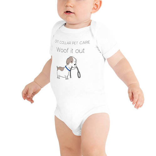 Woof it out Baby Onesie