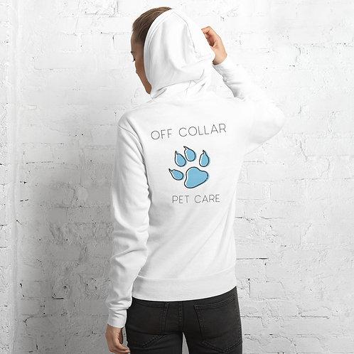 Womens Off Collar hoodie