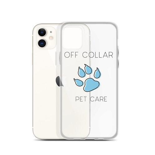 Off Collar Logo iPhone Case