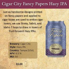 Cigar City Fancy Papers Hazy IPA 2 x 2.j