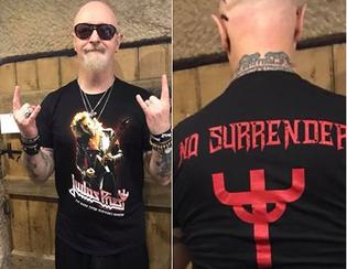 Judas Priest's Glenn Tipton releases new t-shirt for charity