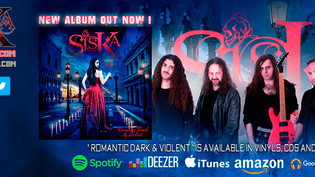"""""""ROMANTIC DARK & VIOLENT"""" THE NEW ALBUM BY SISKA IS OUT NOW!"""