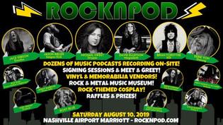 David Ellefson, Michael Sweet, Brian Forsythe, Jason Bieler, headline a lineup of rockers appearing