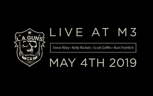 STEVE RILEY Announces His Version Of L.A. GUNS To Play At M3 ROCK FESTIVAL