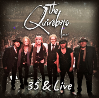 THE QUIREBOYS Announce 35 & Live Digital Only Album Release