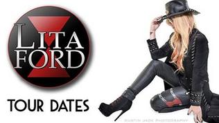 Lita Ford 2017-2018 Tour Dates