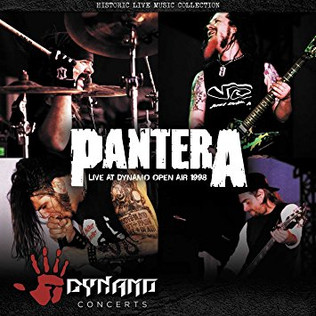 PANTERA releases Live at Dynamo Open Air 1998 on cd and vinyl
