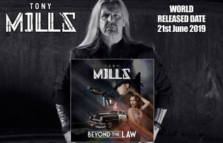 Former TNT Vocalist TONYD MILLS Set To Release 'Beyond The Law'