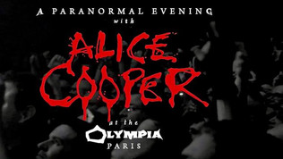 ALICE COOPER Launches Trailer for Upcoming 'Paranormal Evening' Release