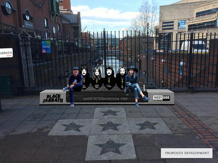 "Motorists may soon be passing over ""Black Sabbath Bridge"" on Broad Street In Birmingham, U"