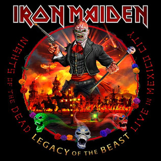 IRON MAIDEN To Release 'Nights Of The Dead, Legacy Of The Beast: Live In Mexico City'