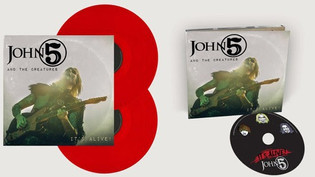 """JOHN 5 AND THE CREATURES Release New Live Album """"It's Alive!"""""""