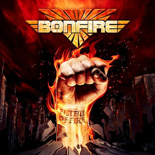 BONFIRE set to release their new album 'Fistful Of Fire'