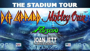 MÖTLEY CRÜE, DEF LEPPARD, POISON: Seven More Shows Added To 'The Stadium Tour'