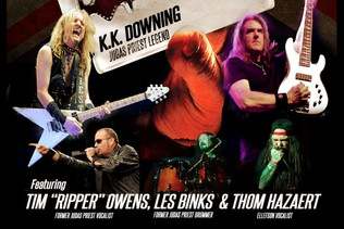 Former JUDAS PRIEST Members K.K. DOWNING, LES BINKS And TIM 'RIPPER' OWENS To Perform With M