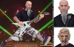 Scott Ian ( Anthrax ) Action Figure available for pre-order