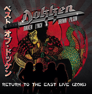 DOKKEN's Classic Lineup To Release 'Return To The East Live (2016)' In April; Cover Artw