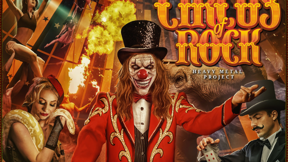 """Circus Of Rock release debut album, """"Come One, Come All"""""""